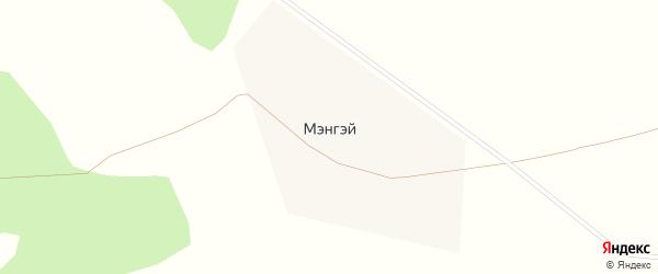 Новая улица на карте улуса Мэнгэй с номерами домов