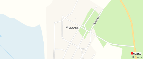 Улица Доржи Банзарова на карте улуса Мурочи с номерами домов
