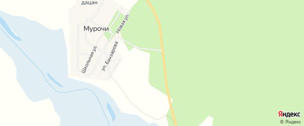 Карта улуса Цаган-Челутай в Бурятии с улицами и номерами домов