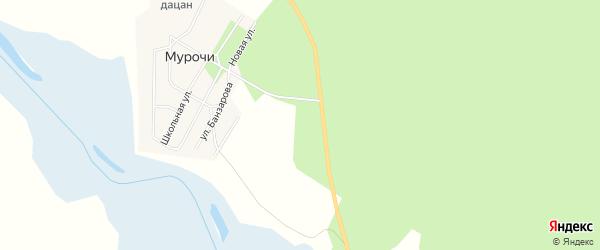 Карта поселка Суджи в Бурятии с улицами и номерами домов