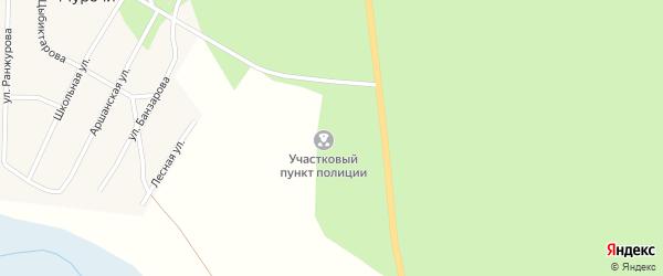 Луговая улица на карте улуса Цаган-Челутай с номерами домов