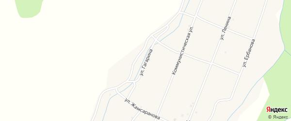Улица Гагарина на карте улуса Хурамша с номерами домов