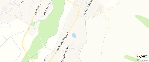 Карта села Кокорино в Бурятии с улицами и номерами домов