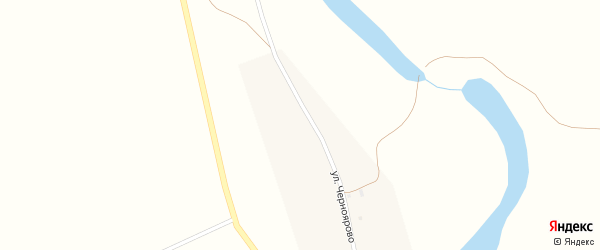 Улица Черноярово на карте села Черноярово с номерами домов