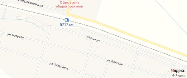Новая улица на карте Оронгой улуса с номерами домов