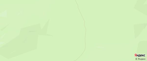 Территория Аллинская (ДНТ Наран) на карте Иволгинского района с номерами домов
