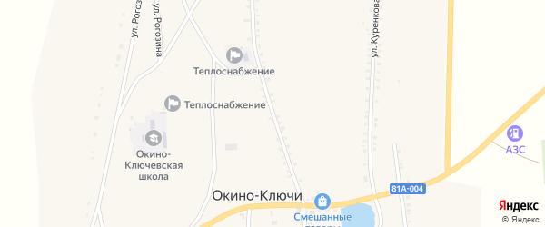 Улица Ленина на карте села Окино-Ключи с номерами домов