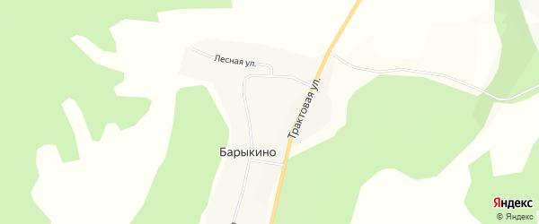 Карта села Барыкино в Бурятии с улицами и номерами домов