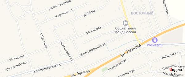 Молодежная улица на карте села Иволгинск с номерами домов