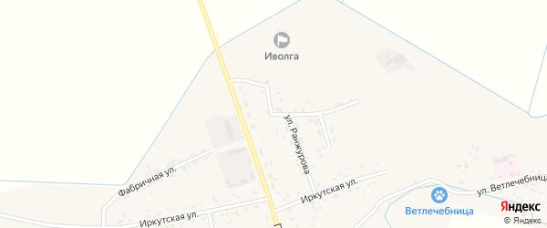 Улица Ранжурова на карте села Иволгинск с номерами домов