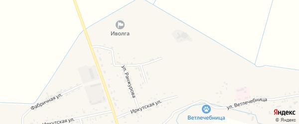 Строительная улица на карте села Иволгинск с номерами домов