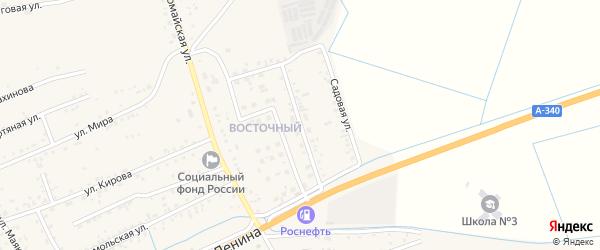 Улица Автомобилистов на карте села Иволгинск с номерами домов