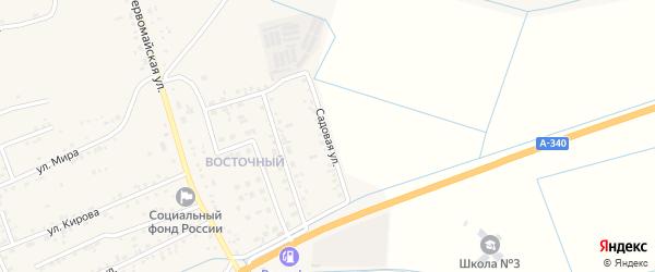 Садовая улица на карте села Иволгинск с номерами домов