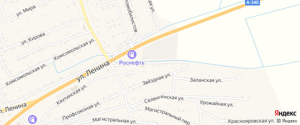 Улица Насосная станция на карте села Иволгинск с номерами домов