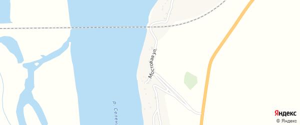 Мостовая улица на карте села Кардона с номерами домов