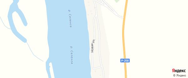 Новая улица на карте села Кардона с номерами домов