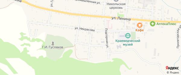 Лесная улица на карте села Тарбагатая с номерами домов