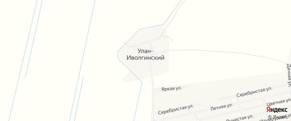 Карта Улан-иволгинского улуса в Бурятии с улицами и номерами домов