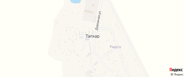 Радужная улица на карте территории ДНТ Радуги с номерами домов