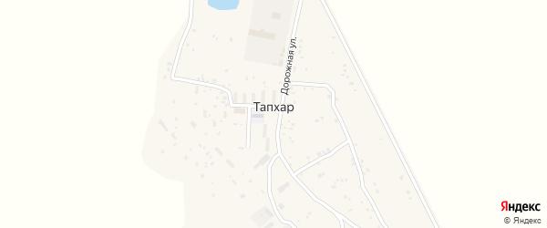 Вишнёвая улица на карте территории ДНТ Радуги с номерами домов