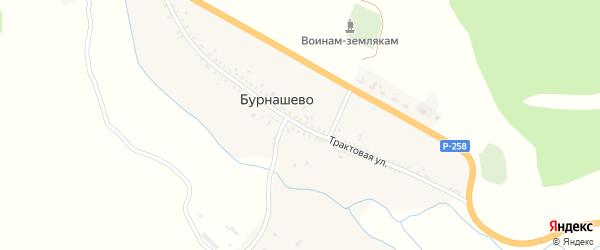 Молодежная улица на карте села Бурнашево с номерами домов