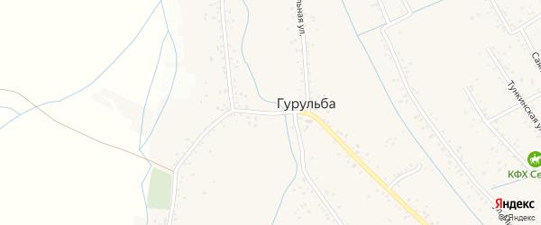 Пионерский переулок на карте села Гурульбы с номерами домов