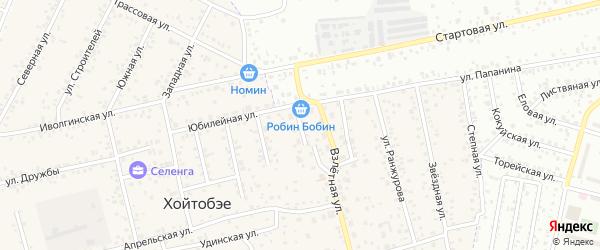 Танхойская улица на карте улуса Хойтобэе с номерами домов
