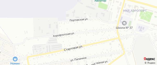 Аэрофлотская улица на карте Улан-Удэ с номерами домов