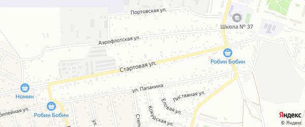 Стартовая улица на карте Улан-Удэ с номерами домов
