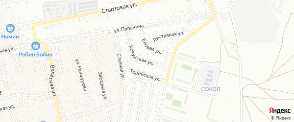 Кокуйская улица на карте Улан-Удэ с номерами домов