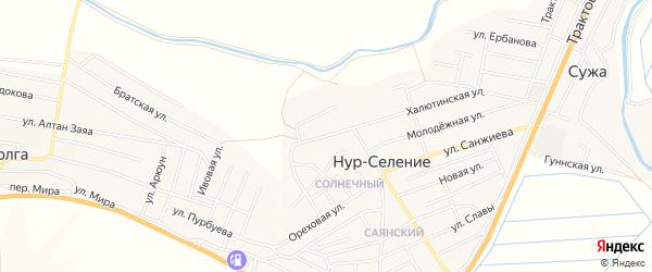 Территория ДНТ Сэсэг на карте Улан-Удэ с номерами домов