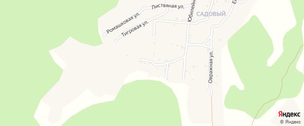 Квартал Южный Васильковая улица на карте села Сотниково с номерами домов
