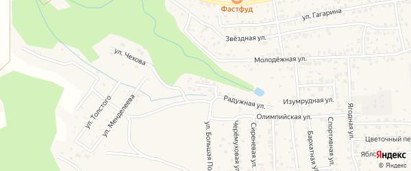 Жарковая улица на карте села Сотниково с номерами домов