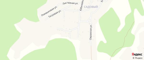 Квартал Южный Хвойная улица на карте села Сотниково с номерами домов