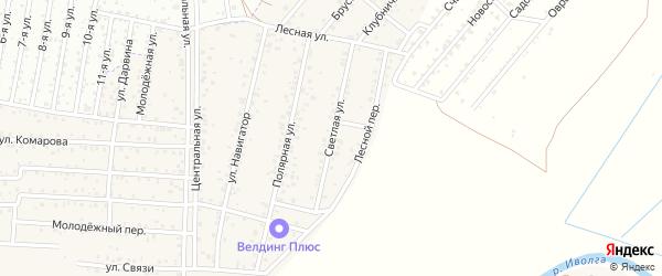 ДНТ Авиатор-2 Светлая улица на карте улуса Хойтобэе с номерами домов
