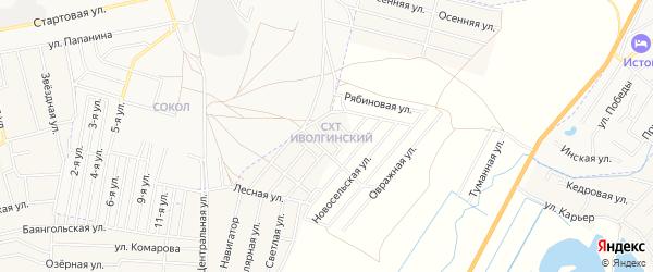 ГСК N128 Авиатор на карте Улан-Удэ с номерами домов