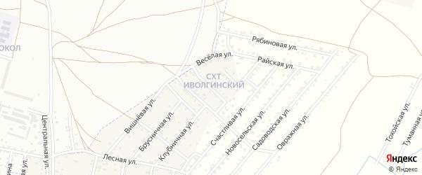 Овражная улица на карте территории Сокола с номерами домов
