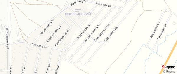 Новосельская улица на карте территории Сокола с номерами домов