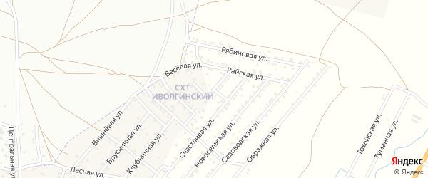 Малая улица на карте территории Сокола с номерами домов