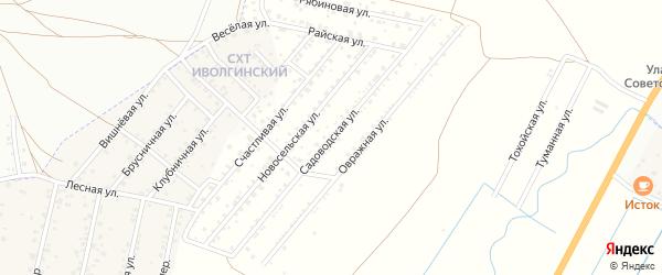 Рябиновая улица на карте территории Сокола с номерами домов