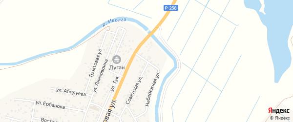 Иволгинская улица на карте села Сужа с номерами домов
