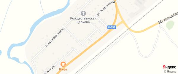 Кооперативная улица на карте села Вознесеновка с номерами домов