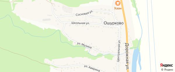 Улица Каменный Карьер на карте села Ошурково с номерами домов