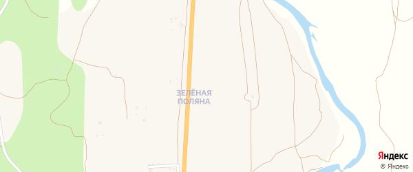 Улица Уютная квартал Зеленая Поляна на карте села Сотниково с номерами домов
