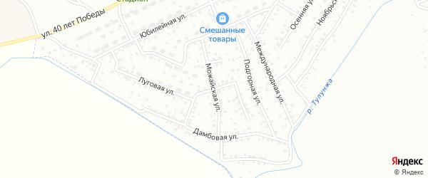 Орлиная улица на карте Улан-Удэ с номерами домов