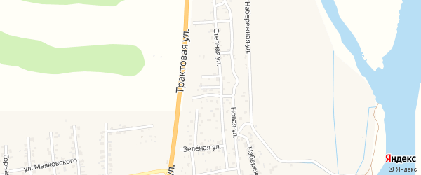 Ивовая улица на карте Улан-Удэ с номерами домов