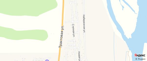 Степная улица на карте села Сотниково с номерами домов