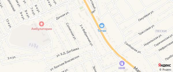 Улица 2-й квартал 20-я (СНТ Багульник) на карте села Сотниково с номерами домов