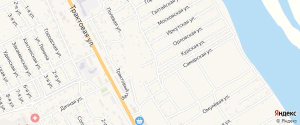 Тихая улица на карте села Сотниково с номерами домов