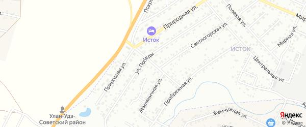 Полынная улица на карте Улан-Удэ с номерами домов